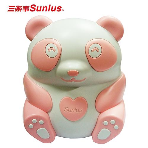 三樂事Sunlus熊貝比電動吸鼻器-粉紅色