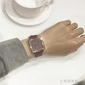 別樣社會錶女品質休閒簡約時尚潮流學生男女正方形日歷情侶款手錶 【快速出貨】