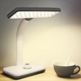 學生書桌充電護眼檯燈HL1966『黑色妹妹』