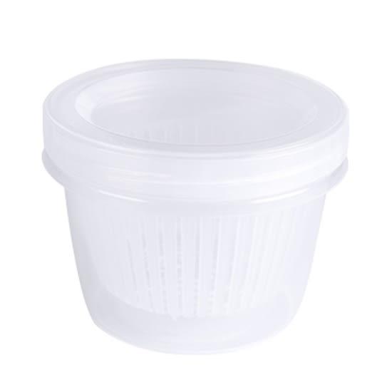 保鮮盒 瀝水籃 保鮮罐 備料 收納盒 調味料 密封盒 薑蒜 廚房 露營 蔥花保鮮盒【L201】米菈生活館