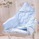 嬰兒抱被新生兒包被秋冬加厚抱毯春夏季薄款被子包巾寶寶用品 鹿角巷