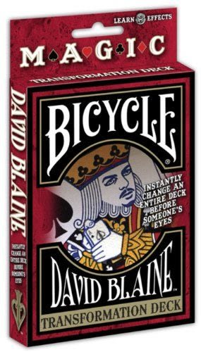 【USPCC 撲克】Bicycle DAVID BLAINE Transformation 變形撲克牌