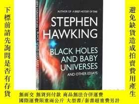 二手書博民逛書店黑洞和小宇宙論文罕見英文原版 Black Holes And Baby UniversesY21066 Ste