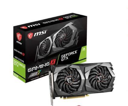 微星 GeForce GTX 1650 GAMING X 4G  【刷卡含稅價】