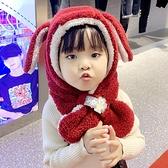 寶寶圍巾圍脖一體保暖冬兒童護耳帽男童女童帽嬰兒帽子秋冬嬰幼兒 蘇菲小店