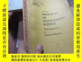 二手書博民逛書店second罕見edition principles of ma