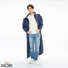 【MORR】Dimensional 前開雨衣【午夜藍】超大後背空間/容納後背包/機車雨衣/連身雨衣/通勤/機車