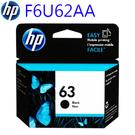HP F6U62AA (63) 黑色墨水...