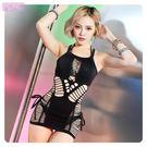 衣美姬♥性感火辣 辣妹透視連身裙 鋼管舞者表演服裝 夜晚情趣戰袍