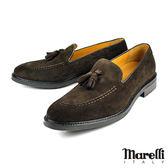 【Marelli】經典流蘇樂福鞋 深咖(2398-DBRS)