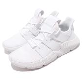adidas 休閒鞋 PROPHERE 白 全白 針織鞋面 全新鞋款 運動鞋 男鞋【PUMP306】 DB2705