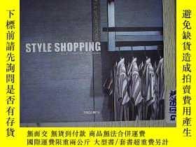 二手書博民逛書店Style罕見Shopping: Shops & Showroo