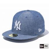 NEW ERA 59FIFTY 5950 CHAMBRAY 洋基 藍 棒球帽