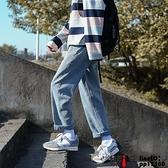 牛仔褲潮牌直筒休閑寬松韓版潮流闊腿男生百搭長褲子學生寬管褲大碼大號23XL【邦邦男裝】