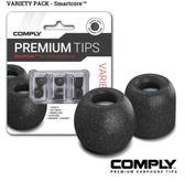 平廣 COMPLY SmartCore Variety 3對 綜合包科技 泡綿耳塞 記憶耳塞 耳塞 隔離蠟棉 TIPS