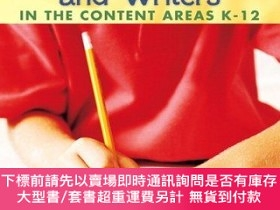 二手書博民逛書店Developing罕見Readers And Writers In The Content AreasY25