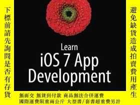 二手書博民逛書店Learn罕見iOS 7 App Development-了解iOS 7應用程序開發Y443421 James