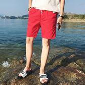 男士短褲男夏季休閒褲韓版運動五分褲寬鬆七分褲中褲潮流沙灘褲子 魔方數碼館