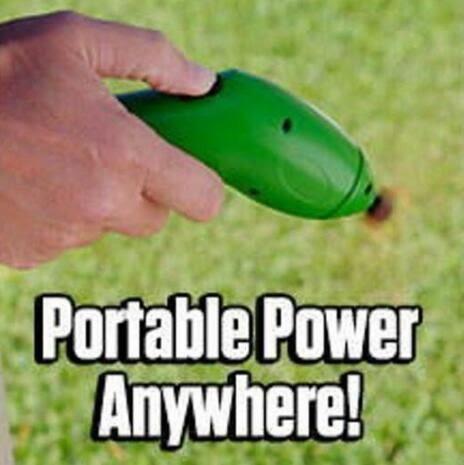 現貨 zip trim 割草機手持電動無繩迷你割草器草坪花園修剪機  茱莉亞嚴選
