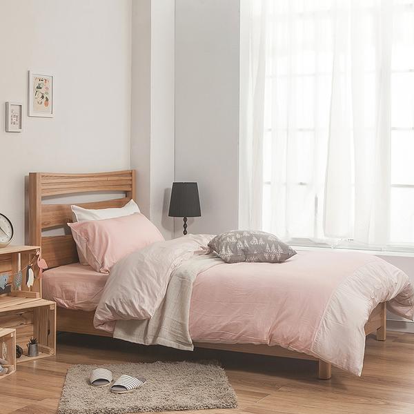 床包兩用被組 / 雙人【簡單生活-淺系列-多色可選】含兩件枕套 100%精梳棉 戀家台灣製AAA215