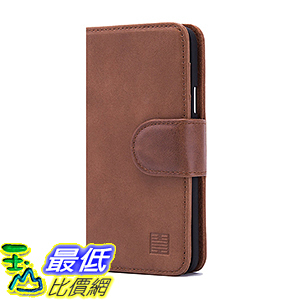 [106美國直購] 32ndShop Leather Book Wallet Case for Samsung Galaxy A5 - Chestnut 手機 保護套