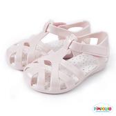 PIMPOLHO 果凍編織小童鞋-珠光粉