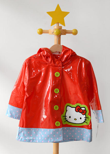 兒童雨衣 / 凱蒂貓 Hello Kitty 紅色點點兒童雨衣 Western Chief Red Hello Kitty Scenic Raincoa