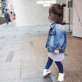 牛仔外套女童牛仔外套新款春秋裝韓版短款兒童寶寶童裝上衣潮走心小賣場