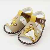 【愛的世界】小花豹印圖寶寶鞋/學步鞋-台灣製- ★童鞋童襪