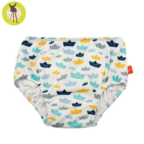 德國Lassig-嬰幼兒抗UV游泳尿布褲--小風船