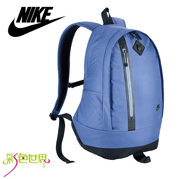NIKE耐吉背包 運動休閒背包 藍色 BA-5230-450 彩色世界
