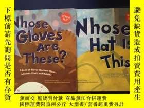 二手書博民逛書店Whose罕見Hat Is This?+whose gloves are these?兩冊合售Y234641