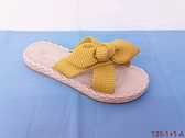 MD135-1 愛麗絲的最愛 韓版時尚甜美蝴蝶結平底拖鞋