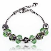 手鍊 串珠-水晶飾品唯一的你生日情人節禮物女配件2色73bg43[時尚巴黎]