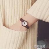 韓國訂單氣質時尚潮流女士經典圓形中學生百搭女生簡約鏈韓版手錶 【雙十二下殺】