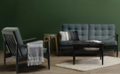 【歐雅系統家具】北歐置物設計長邊几 - 黑 茶几 / 長邊几 / 北歐風 / 開放式 / 防滑腳粒設計