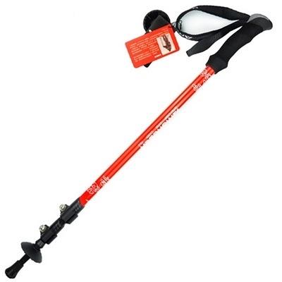 登山杖-碳素外鎖戶外伸縮超輕型鋁合金安全拐杖2色71c16【時尚巴黎】
