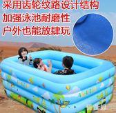 寶寶游泳池嬰幼兒家用大號加厚嬰兒大型家庭小孩兒童泳池充氣水池 QQ5663『優童屋』