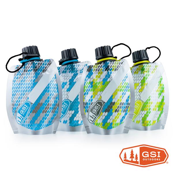 GSI Travel bottle - soft sided 3.4 oz.調味醬包組 ( 四入) 100ml 水袋 旅行分裝瓶罐 91345