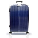 【YC Eason】星光二代20吋海關鎖款PC硬殼行李箱-藍