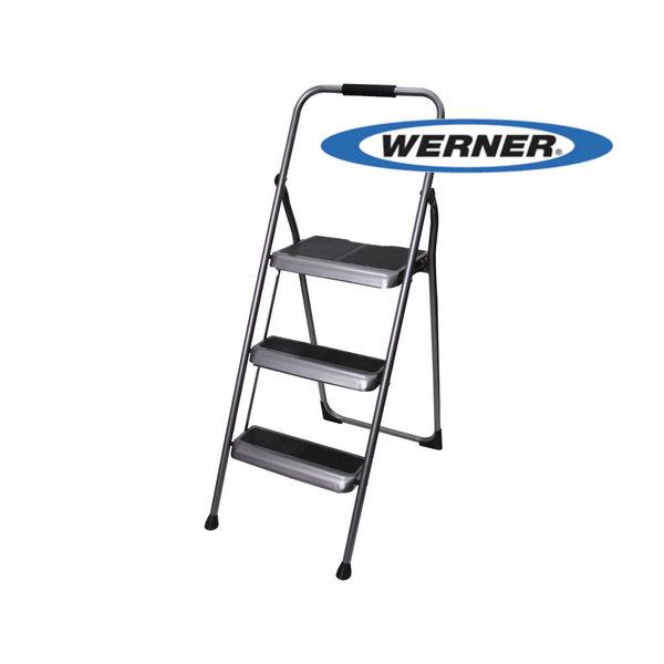 美國Werner穩耐安全梯-S323-6三階家用梯   A字梯 梯子