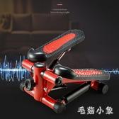 踏步機家用小型原地多功能腳踏機運動健身器材踩踏機 CJ3373『毛菇小象』