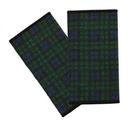 日本製~適用Ergo/Beco/aprica 各款揹帶紗布口水巾 綠色格紋