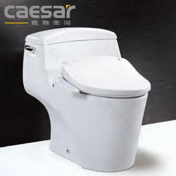 【買BETTER】凱撒免治馬桶/凱撒馬桶 單體馬桶C1353搭配TAF180L不鏽鋼噴頭電腦馬桶座★送6期零利率