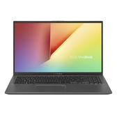ASUS華碩 X512JA-0041G1005G1 星空灰15吋筆電-i3-1005G1/4G/128G SSD/W10