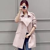 翻領大衣-時尚修身顯瘦中長款女風衣外套4色73iz12【時尚巴黎】