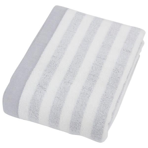 大浴巾 DH BORDER GY NITORI宜得利家居
