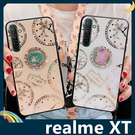 realme XT 時光玻璃保護套 電鍍...
