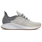 New Balance 女鞋 慢跑 復古 輕量 緩震 Fresh Foam Roav 米白 灰【運動世界】WROAVTG