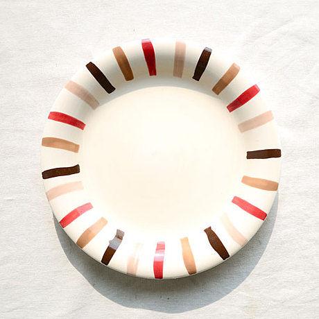 手繪陶瓷|7.6寸平盤|